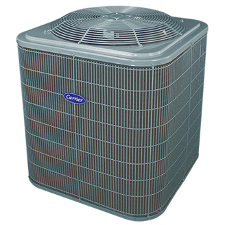 Carrier Comfort 14 central air conditioner.