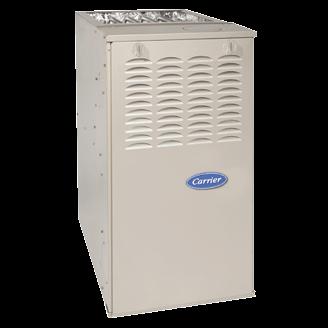Carrier Comfort 80 Ultra-Low NOx gas furnace.
