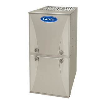 Carrier Comfort 95 Ultra-Low NOx gas furnace.